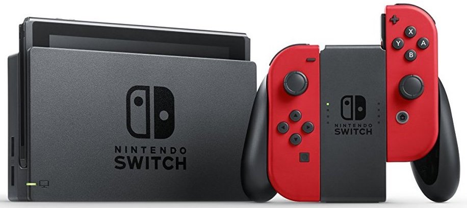 Nintendo Switch Rot mit Docking Station